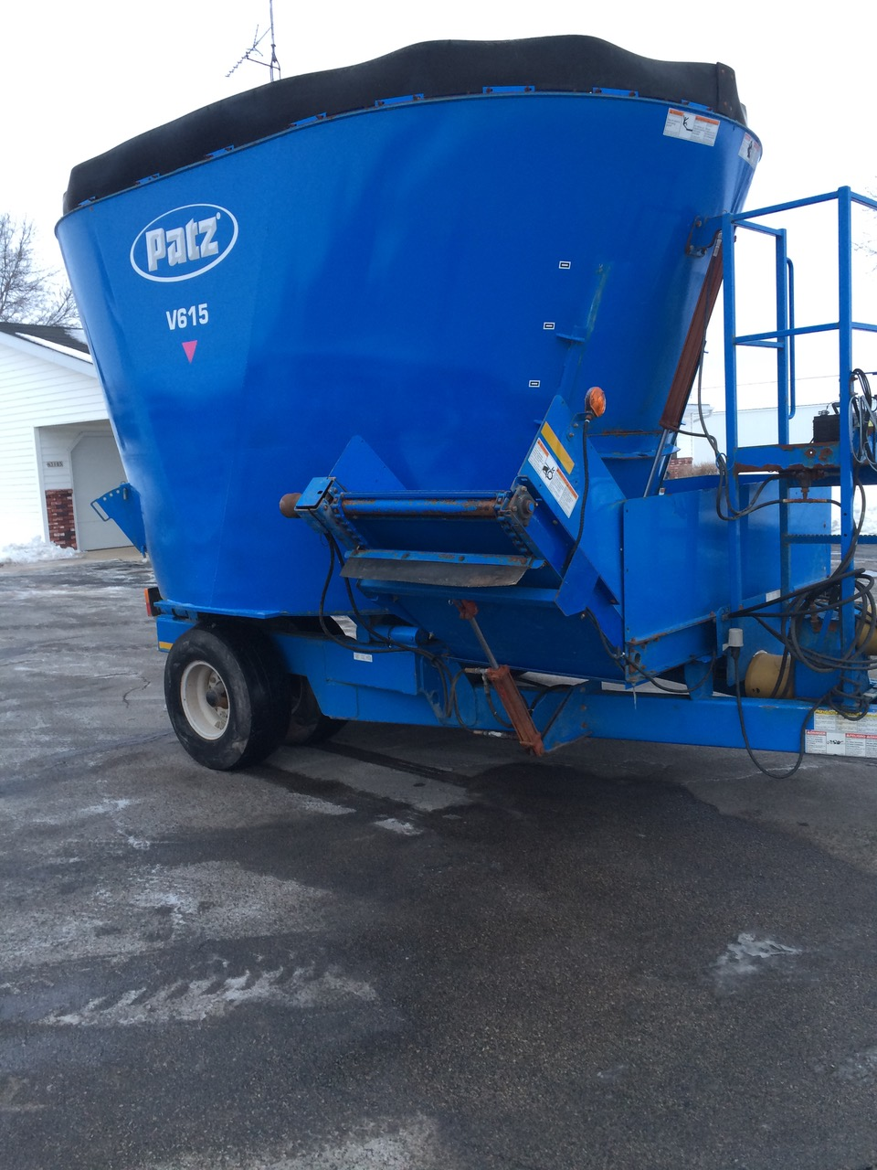 used Patz equipment
