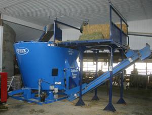 Patz mixing equipment